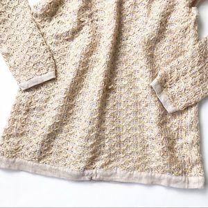 1f46d5486c Free People Sweaters - FREE PEOPLE Blush Gold Knit Sweater
